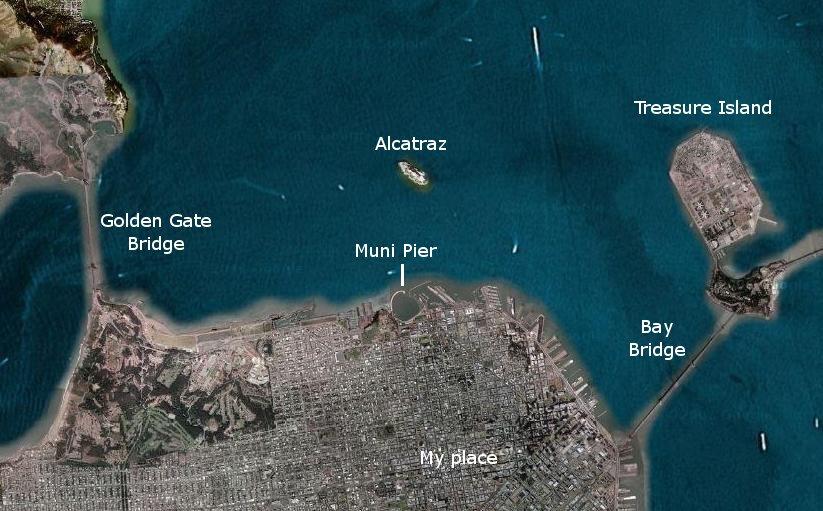 Muni pier with captions
